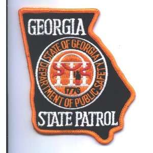 Georgia State Highway Patrol Police patch: Everything Else