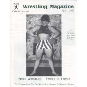 Mass Muscle Wrestling Magazine March 2000 Various, Ed
