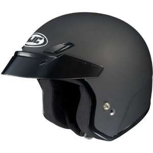 5N Open Face Motorcycle Helmet Flat Black Extra Large XL 0835 0135 07