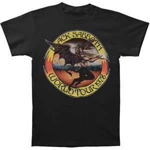 Black Sabbath   T shirts   Band Clothing