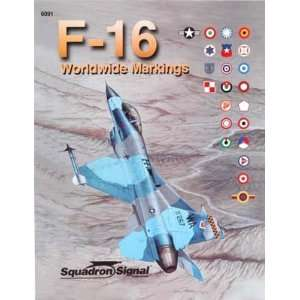 Squadron/Signal Publications F16 Worldwide Markings