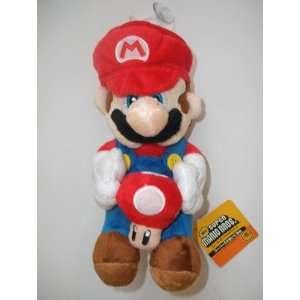 Super Mario Galaxy Plush Doll ~ 6 Mario with Red Mushroom