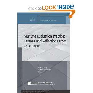 Multisite Evaluation Practice Lessons and Reflections From Four Cases