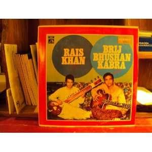 Sitar Guitar Duet, Rais Khan and Brij Bhushan Kabra: Rais