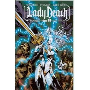 Lady Death Ongoing #10 Va Comicon Variant: Brian Pulido: Books