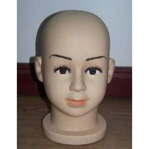 Male or Female Teenager Boy Girl Mannequin Head for Display cap hat