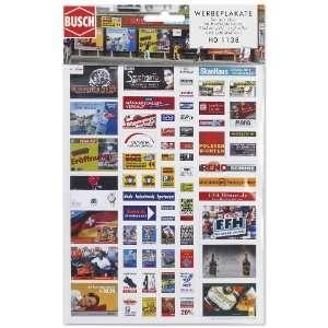 Busch 1138 Modern Adverts: Toys & Games