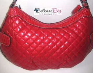 NEW! $105 GUESS BY MARCIANO RED HANDBAG RUBYAALIYAH SATCHEL SHOULDER