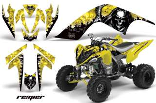 GRAPHIC WRAP OFF ROAD DECAL STICKER KIT YAMAHA RAPTOR 700 REAPER Y