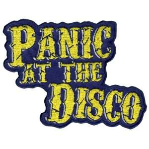 Panic! At The Disco   Cracked Logo Iron On Patch: Arts