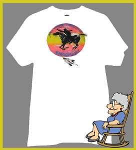 NEIL YOUNG AND CRAZY HORSE T SHIRT RAGGED GLORY RETRO