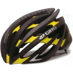 GIRO 2012 AEON Cycling Road Bike Helmet Matte Black/Yellow Livestrong