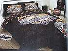 Harley Davidson Earn The Ride Double Bed Quilt Cover Set New