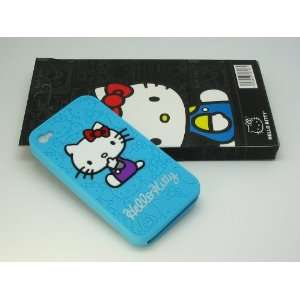 com Hello Kitty 3D BABY BLUE (Light Blue) Silicone Gel Case For Apple