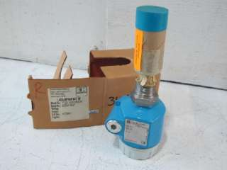 ENDRESS+HAUSER LIQUIPHANT M FTL51 AGN2DB2E5A LIQUID LEVEL SWITCH