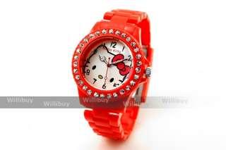 Hello Kitty Crystal Wristwatch/Watch Fashion U VS019