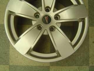 04 06 Pontiac GTO OEM Wheels 17 x 8 Silver PZ9 5 Spoke