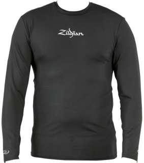 Zildjian Cymbals Long Sleeve Compression Tee T Shirt M L XL