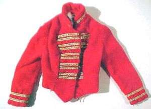 65 Vintage Barbie DRUM MAJORETTE Jacket #0875 FREE SHIPPING