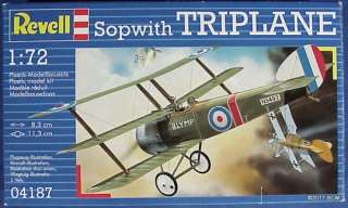 Sopwith Triplane Revell Model Kit 1/72 WWI Fighter
