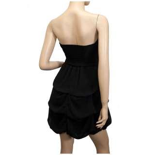 Plus Size Black Sequined Princess Ruffle Dress