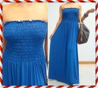 Summer Strapless Black Maxi Dress Sz XXL 3XL 16 18 20