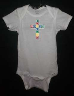 Cute Baby Onesie, Jesus Loves Me, Infant Clothing 1051