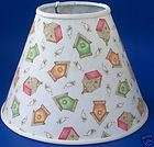 Birdhouse Lampshade Bird House Lamp Shade 103H1, Weathervane Lamp