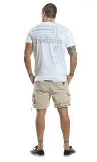 ZANEROBE Mens White Serio A Printed T Shirt