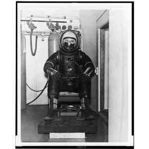 Navys first full pressure suit LCDR. Harry Peck,1953