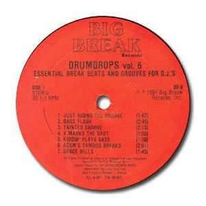 BIG BREAK RECORDS / DRUMDROPS VOL 6 BIG BREAK RECORDS Music