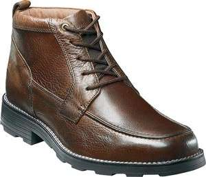 Florsheim Mens Trapper Brown Leather Ankle Boot 11295