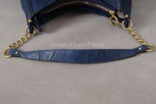 Zac Posen Zac Sac Hobo   French Blue Leather   SOLD OUT