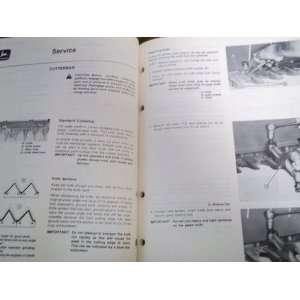 230 Auger Platform OME66106 OEM OEM Owners Manual John Deere Books