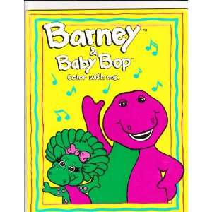 Barney and Baby Bop Coloring Book (9780782901856): Lyons Group: Books