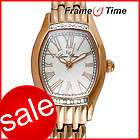 Lucien Piccard Ventura Diamond Rose Gold Watch 28123RO