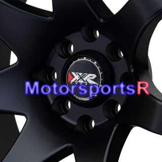 16 16x8 XXR 522 Black Concave Rims 94 Nissan 240sx S13