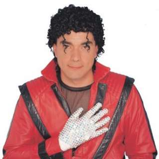 Adults Michael Jackson Thriller Costume Wig Clothing