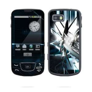 Galaxy Skin Decal Sticker   Abstract Tech City