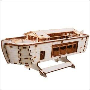 Korea Young Modeler Noahs ark Junior Boat Ship 747 DIY Wooden Model