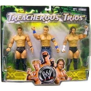 WWE Wrestling Exclusive Series 10 Treacherous Trios Action