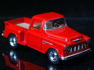 1955 Chevy Stepside Pickup Diecast 132 Scale   Red