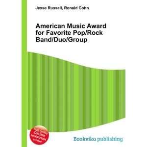 American Music Award for Favorite Pop/Rock Band/Duo/Group Ronald Cohn