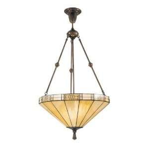 Dale Tiffany 8642/3LTJ Umbrella Filigree Pendant Light, Antique Bronze