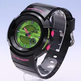 Casio G Shock World Time Chrono Ana Digital AW582SC 1A