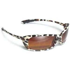 CatBird Sunglasses (Leopard Frame/Brown Gradient Lenses) Automotive