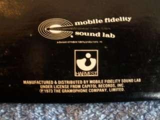 MFSL Pink Floyd Dark Side of the Moon LP Vinyl Record Mobile Fidelity