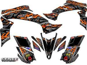 ARCTIC CAT DVX 400 DVX 400 GRAPHICS KIT ATV QUAD 4 WHEELER STICKERS