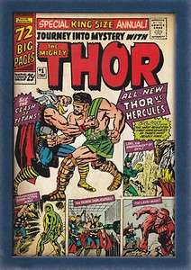 2011 Thor Movie Comic Cover Card # T4 Journey Into Mystery Annual # 1