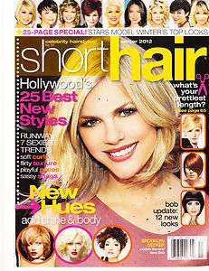 CELEBRITY HAIRSTYLE SHORT HAIR, WINTER, 2012 (HOLLYWOODS 25 BEST NEW